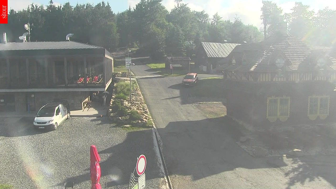 Webcam Ski Resort Pustevny Beskids