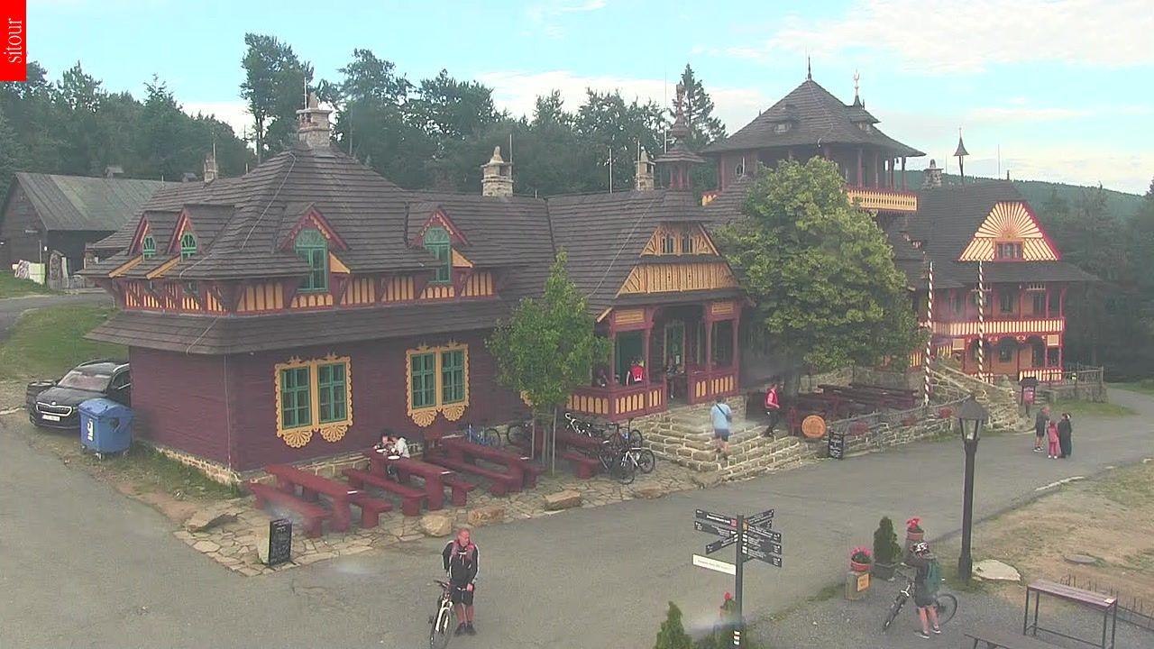Webcam Skigebied Pustevny Beskiden