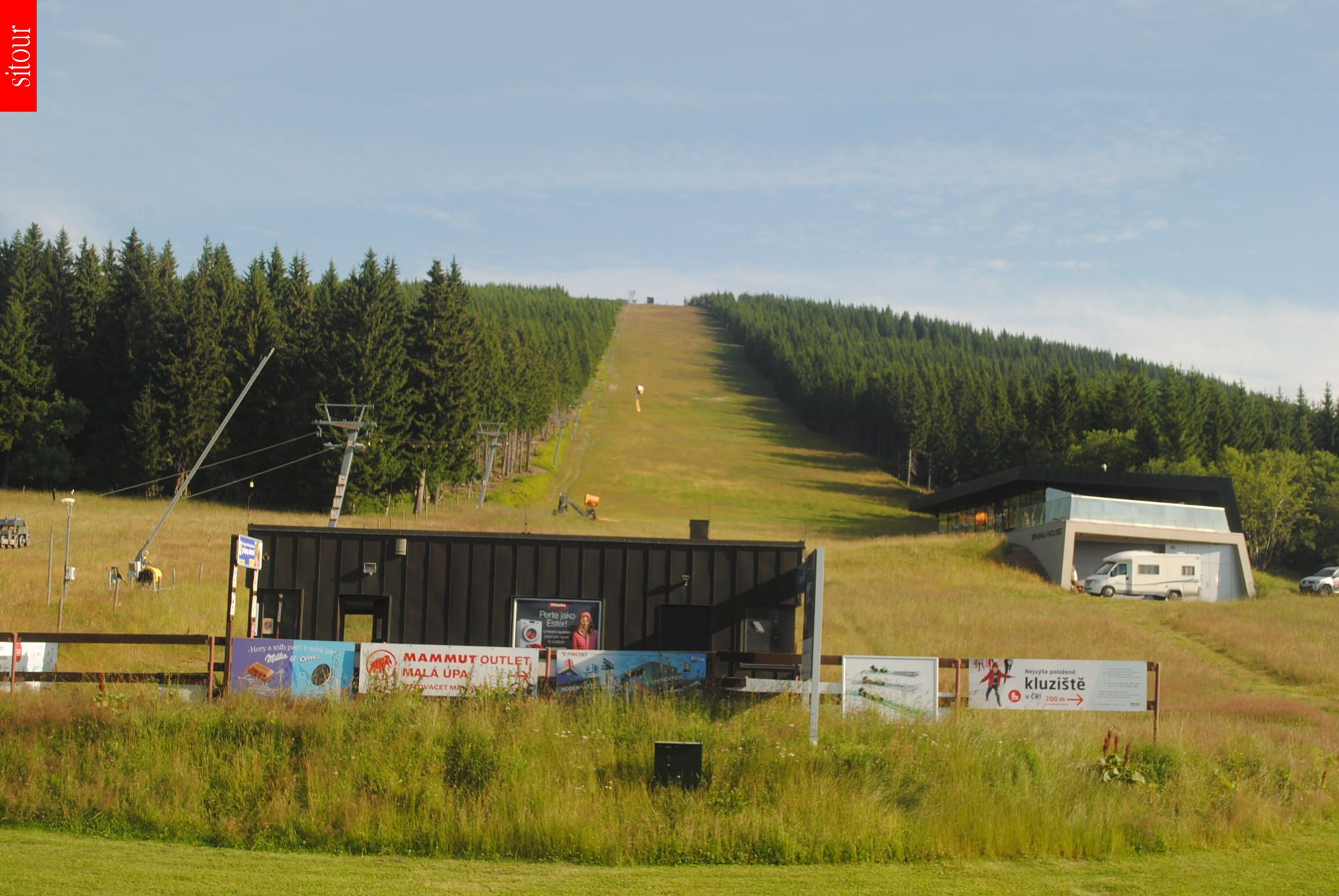 Webcam Ski Resort Mala Upa cam 3 - Giant Mountains