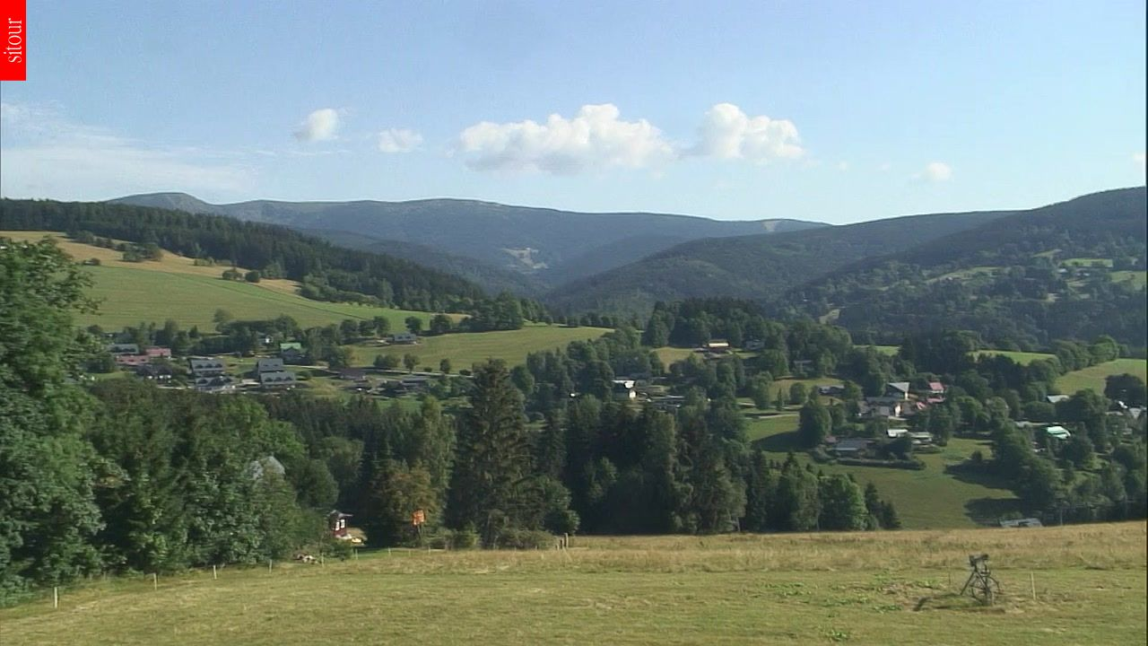 Webcam Skigebied Vitkovice cam 2 - Reuzengebergte