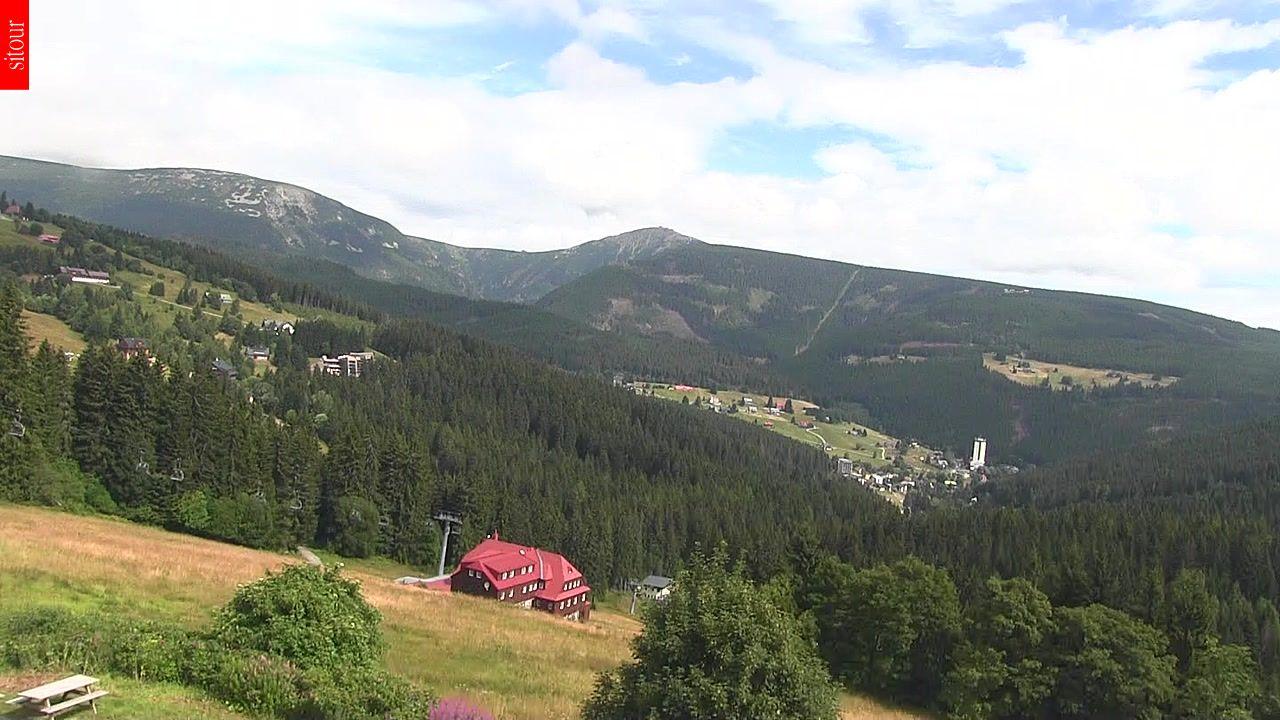 Webcam Skigebiet Pec pod Snezkou Riesengebirge