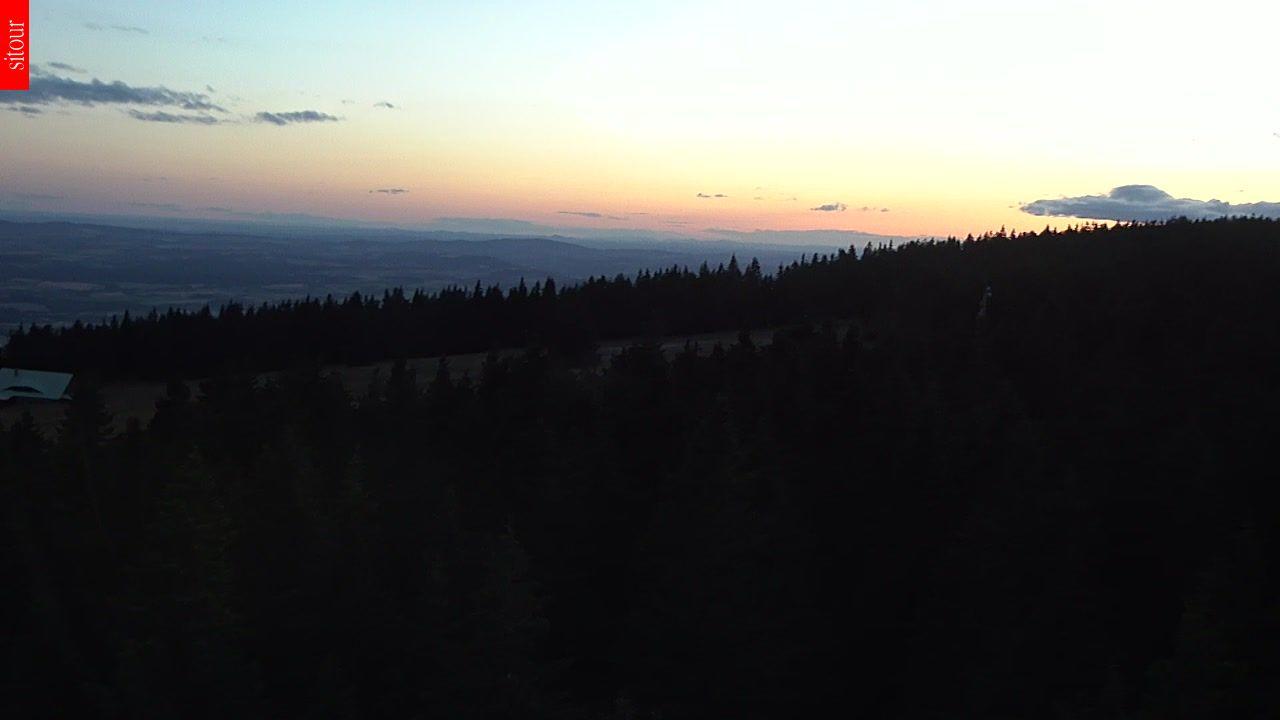 Webcam Skigebiet Janske Lazne Cerna Hora - Riesengebirge