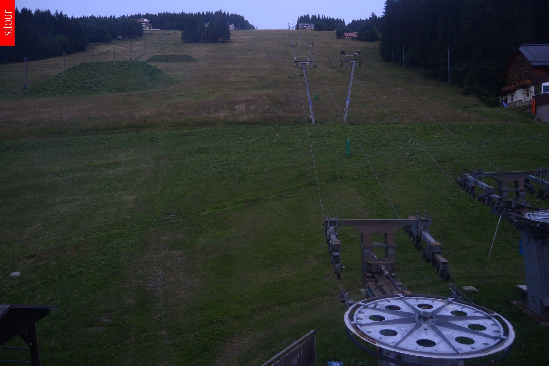 Webcam Skigebied Pec pod Snezkou Reuzengebergte
