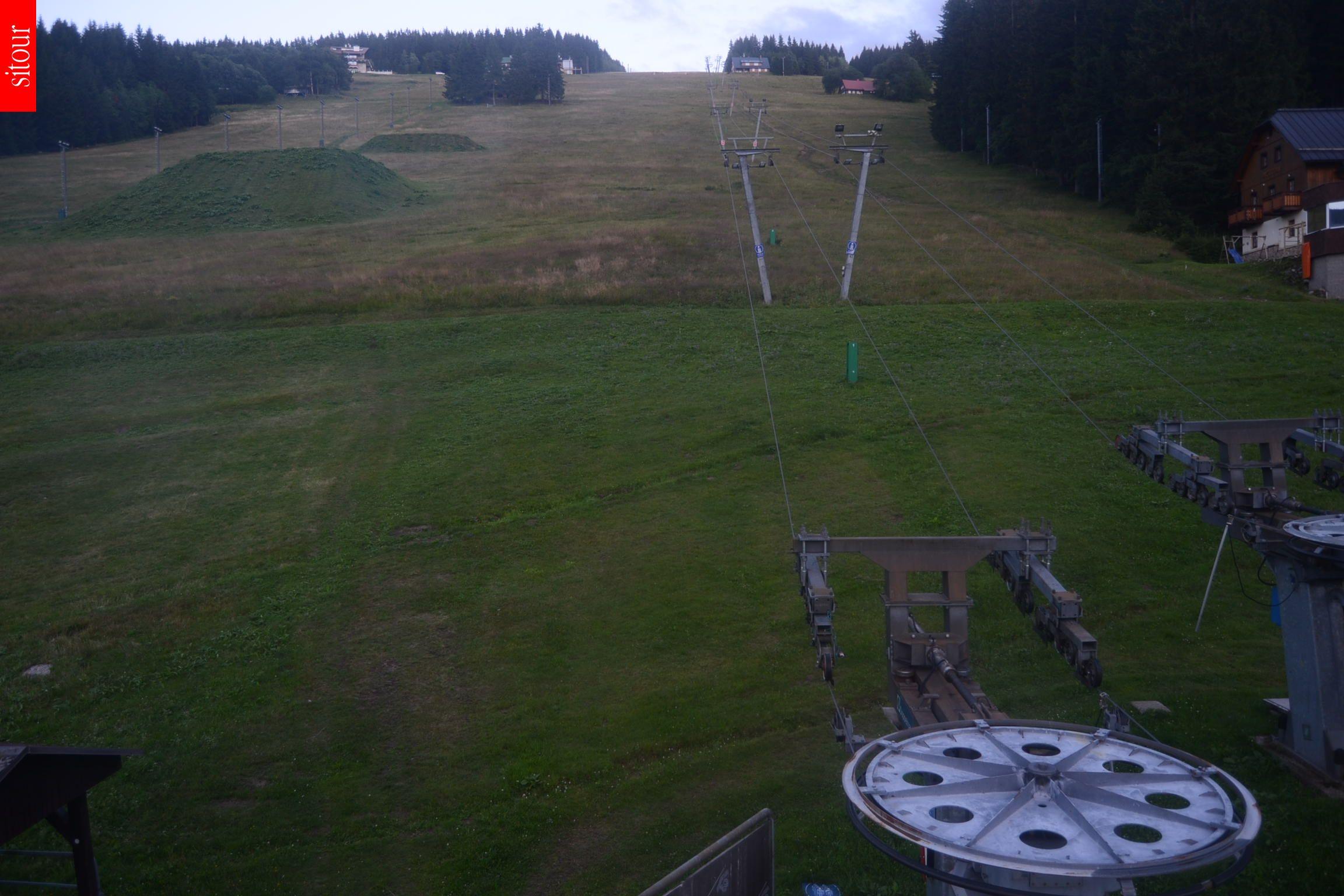 Webcam Ski Resort Pec pod Snezkou Giant Mountains