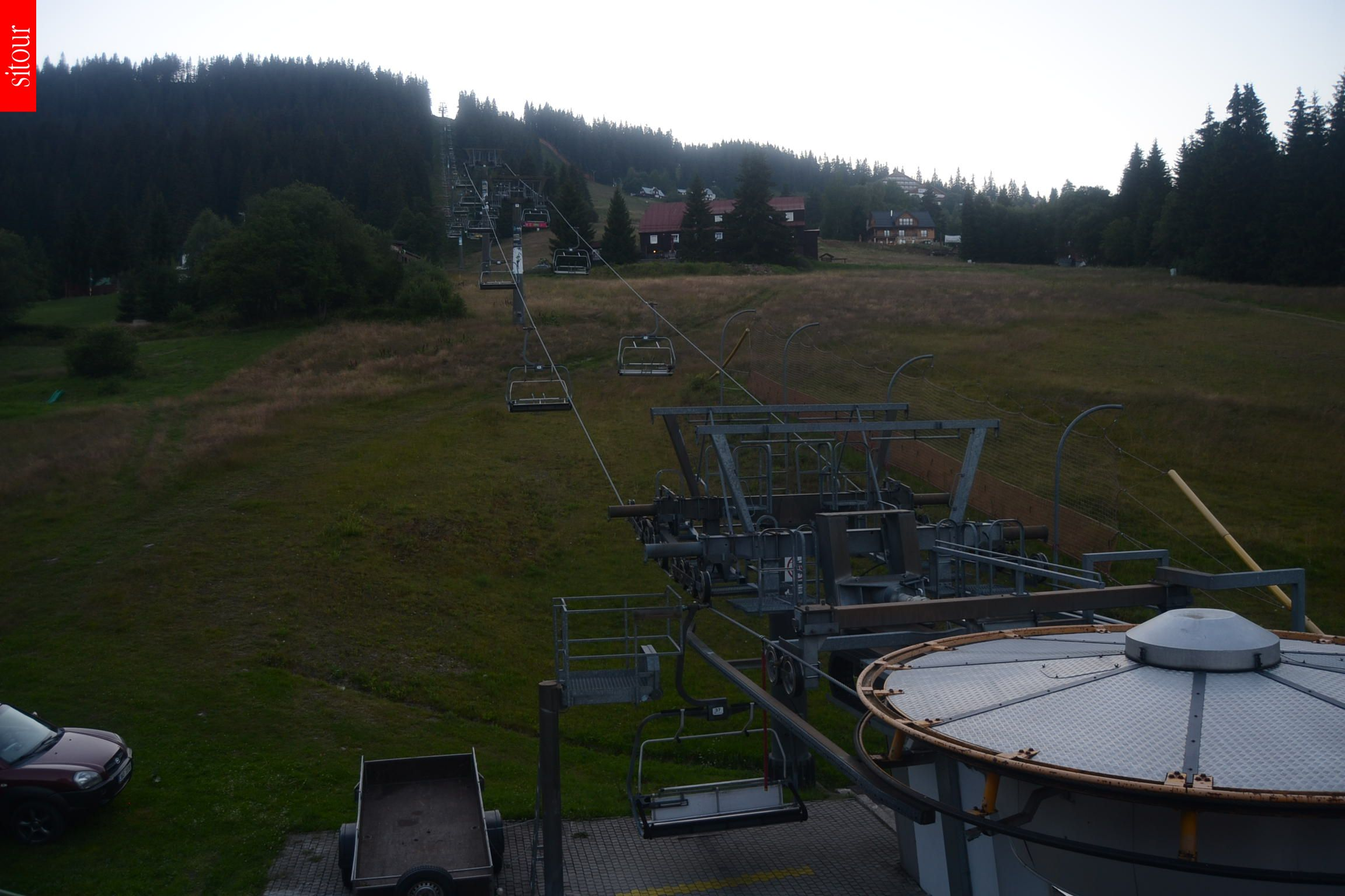 Webcam Skigebiet Pec pod Snezkou Hnedy Vrch - Riesengebirge