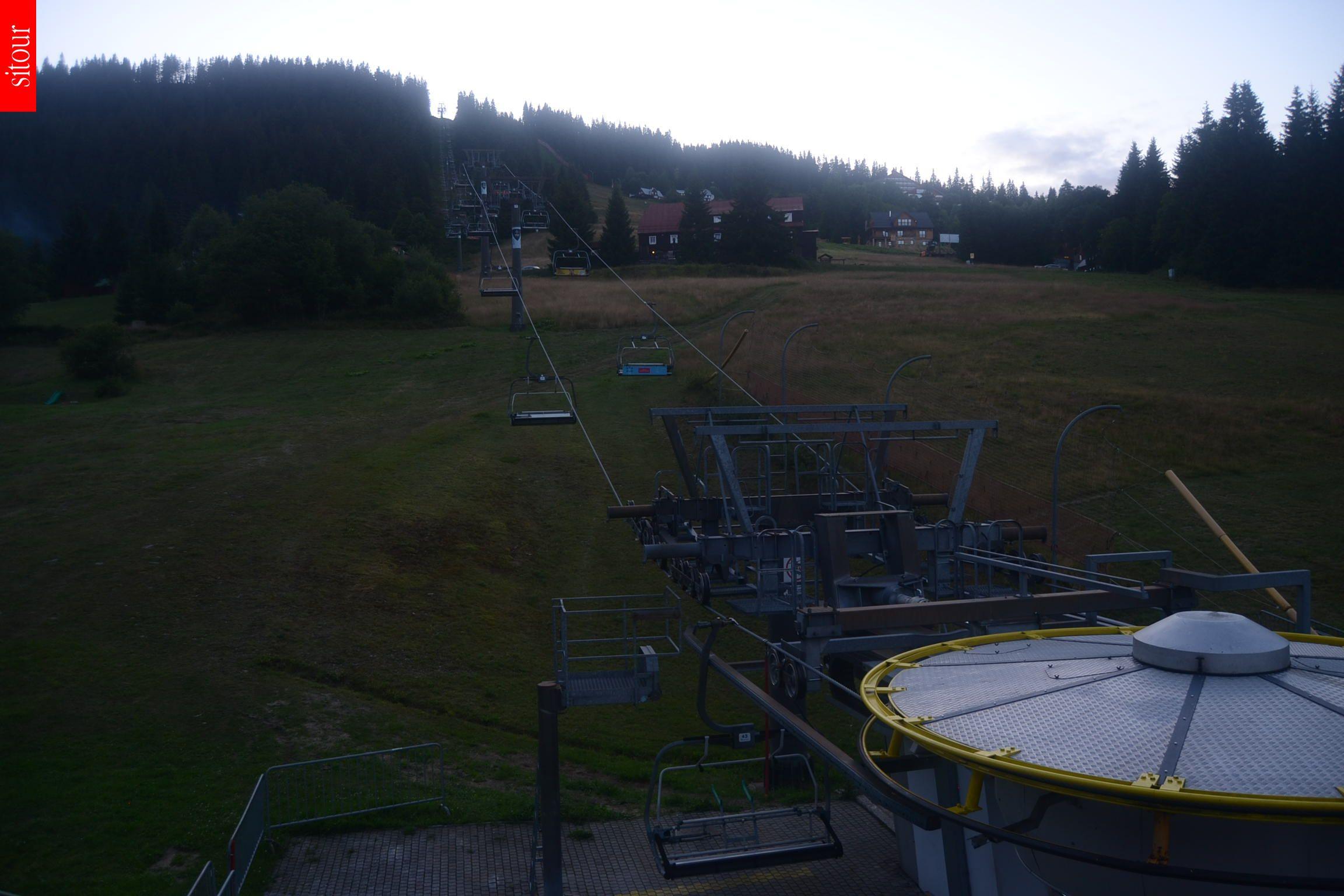 Webcam Skigebied Pec pod Snezkou Hnedy Vrch - Reuzengebergte