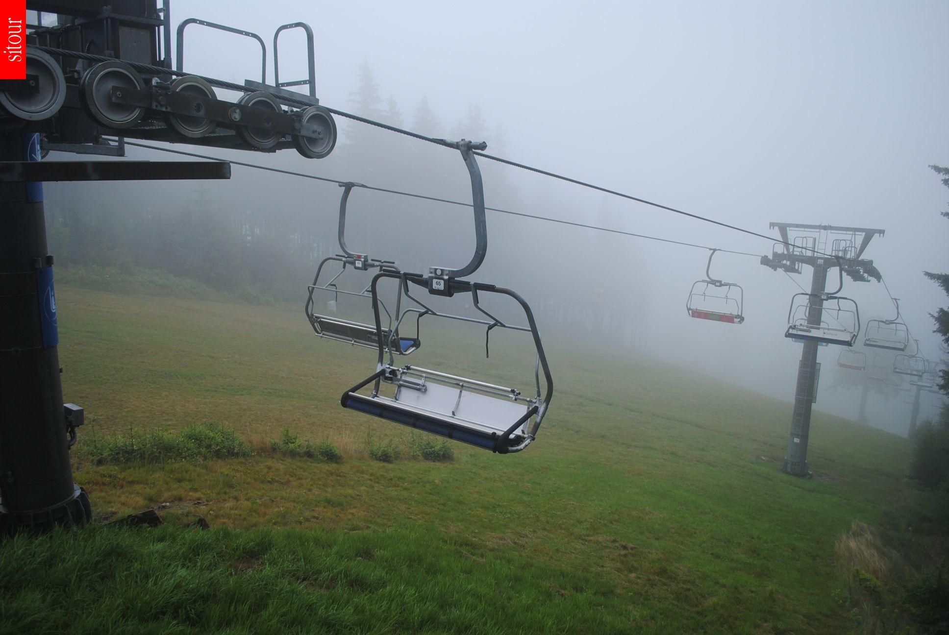 Webcam Skigebiet Janske Lazne Sessellift - Riesengebirge