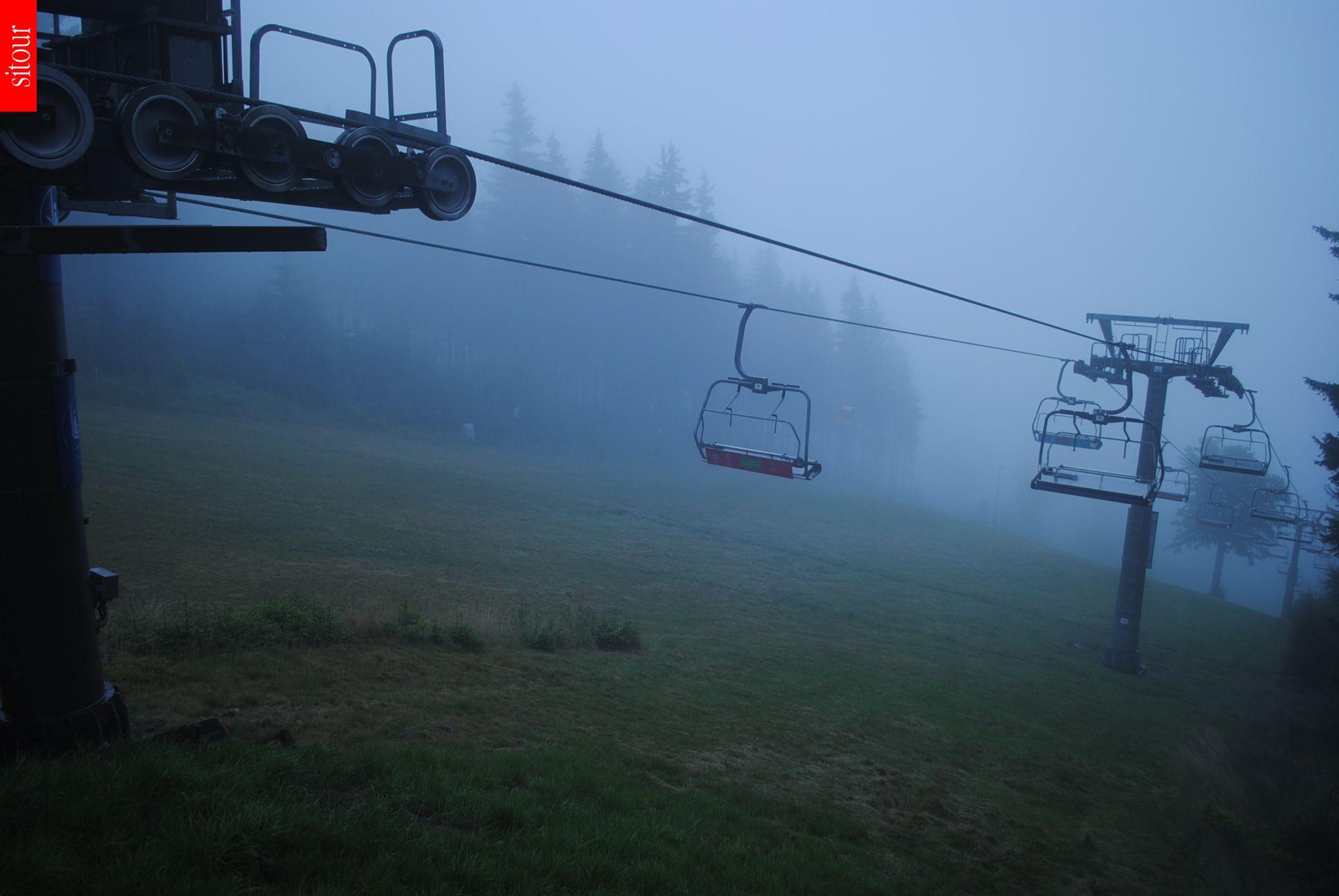 Webcam Ski Resort Janske Lazne Sessellift - Giant Mountains