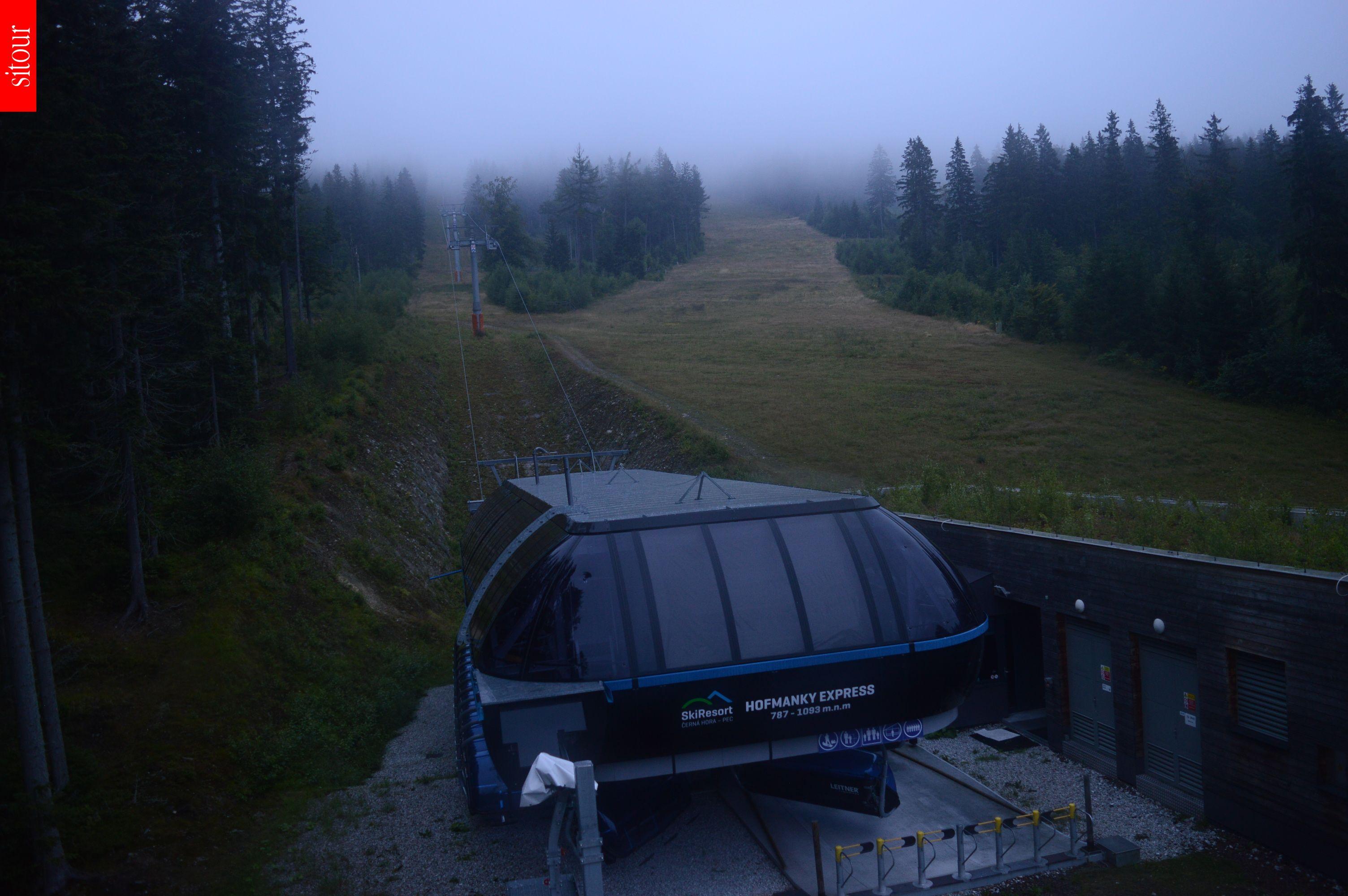 Webcam Skigebiet Janske Lazne Hofmanky - Riesengebirge