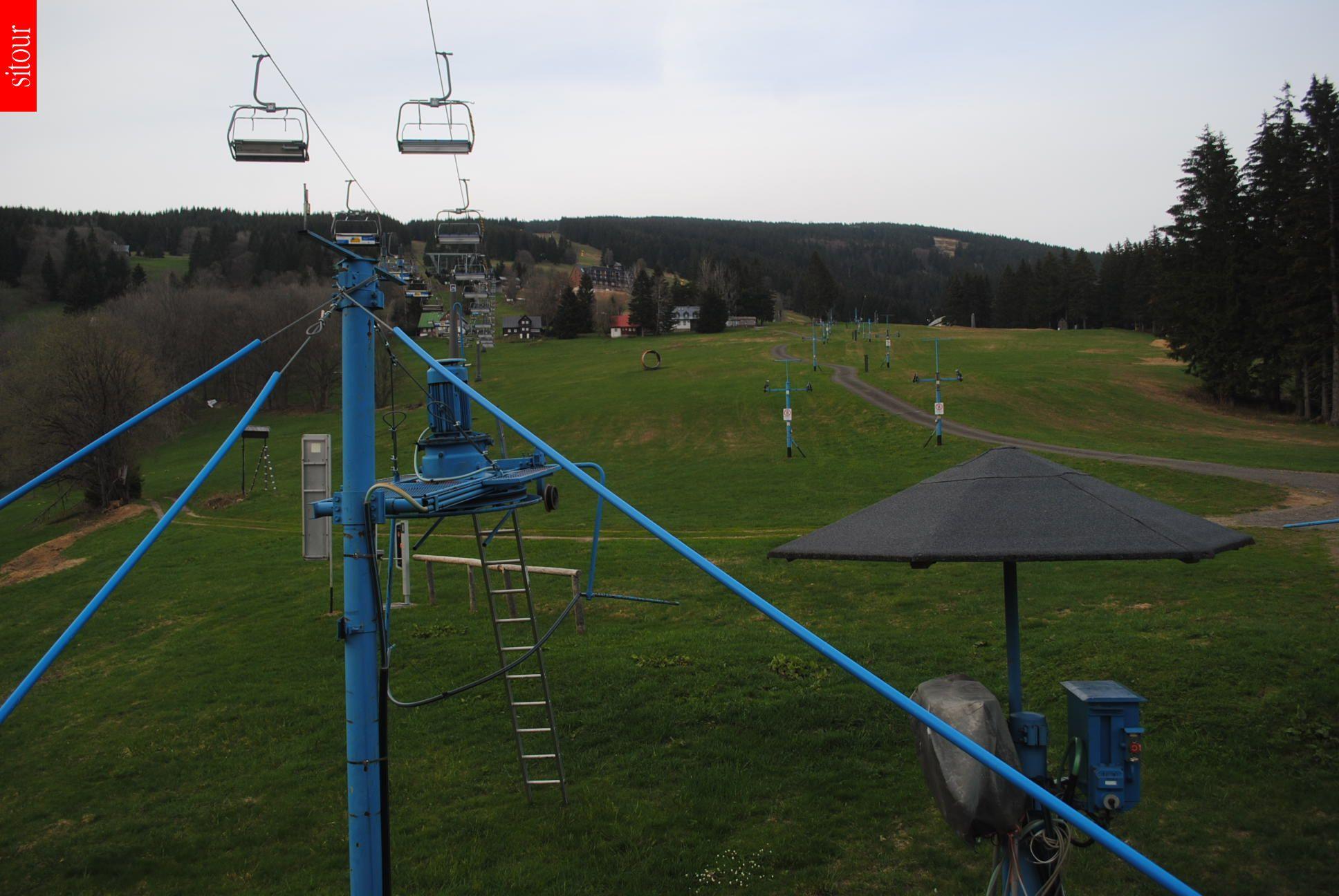 Webcam Skigebiet Rokytnice n. Jizerou Sessellift - Riesengebirge