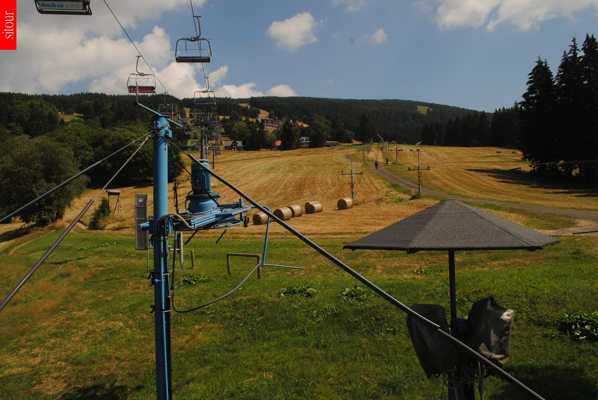 Webcam Ski Resort Rokytnice n. Jizerou Sessellift - Giant Mountains