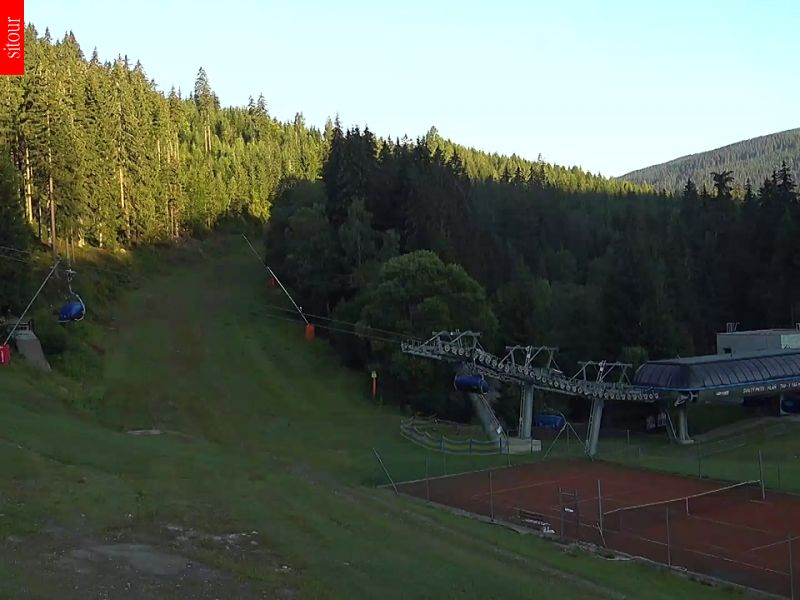 Webcam Skigebiet Spindlerm�hle Riesengebirge