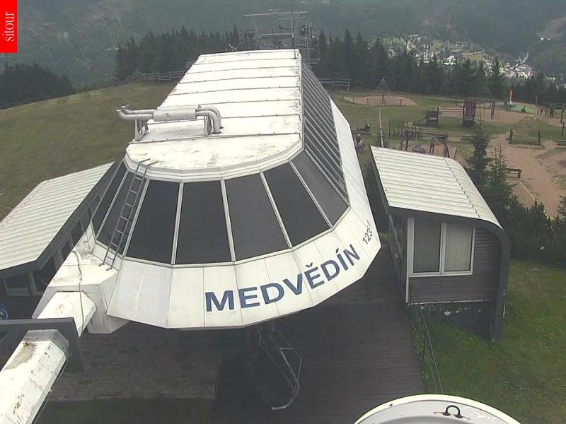 Webcam Skigebiet Spindlerm�hle Medvedin - Riesengebirge