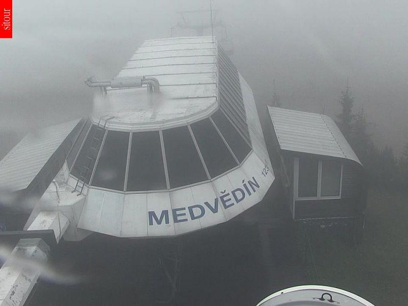 Webcam Skigebiet Spindlermühle Medvedin - Riesengebirge