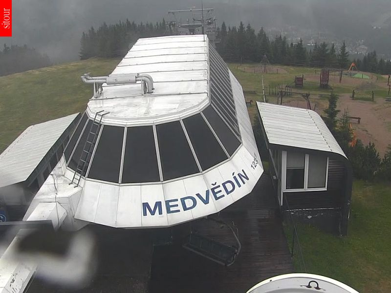 Webcam Ski Resort Spindleruv Mlyn Medvedin - Giant Mountains