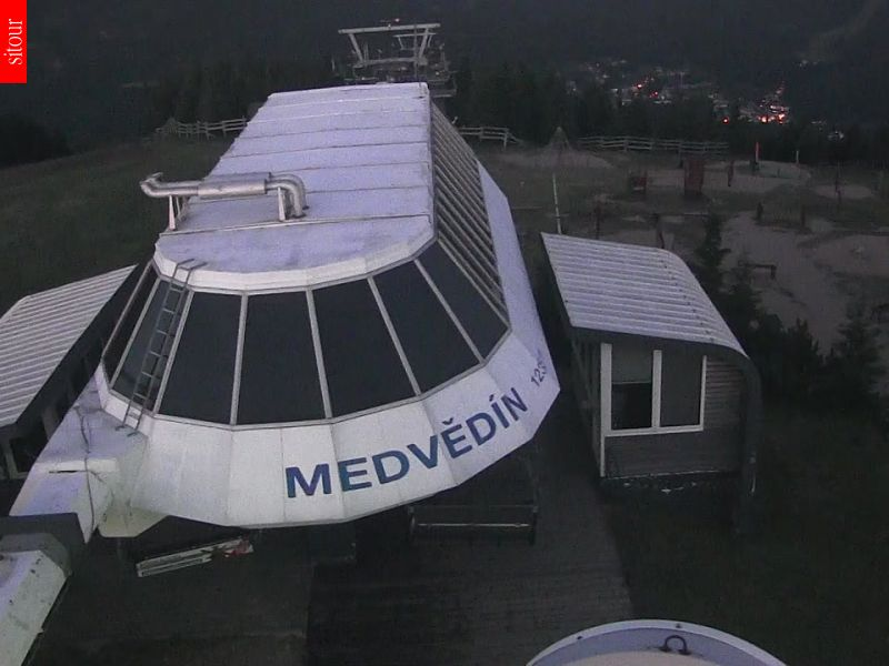Webcam Skigebied Spindleruv Mlyn Medvedin - Reuzengebergte