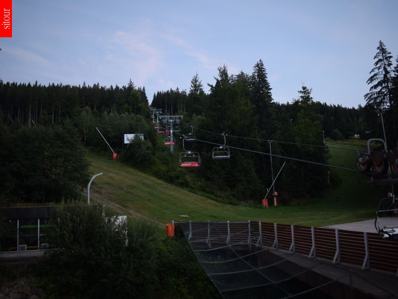 Webcam Ski Resort Spindleruv Mlyn Hromovka - Giant Mountains