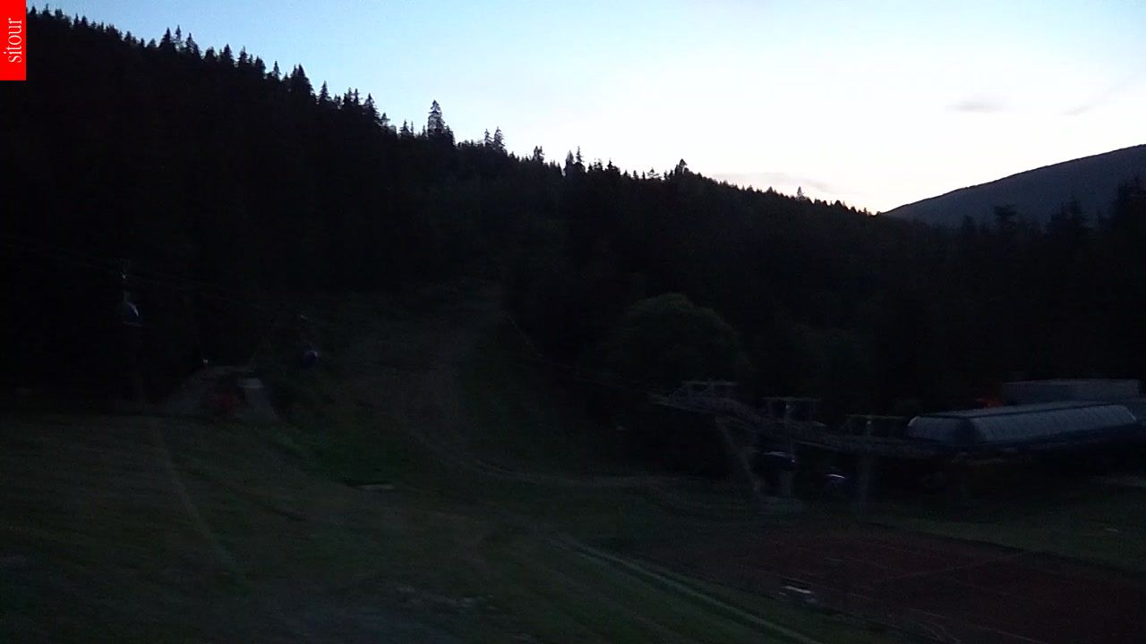 Kamera Špindlerův mlýn - Svatý Petr