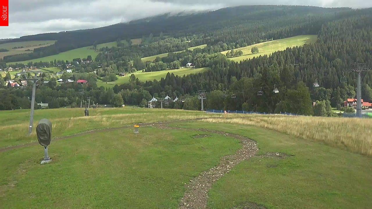 Kamera Deštné v Orlických horách