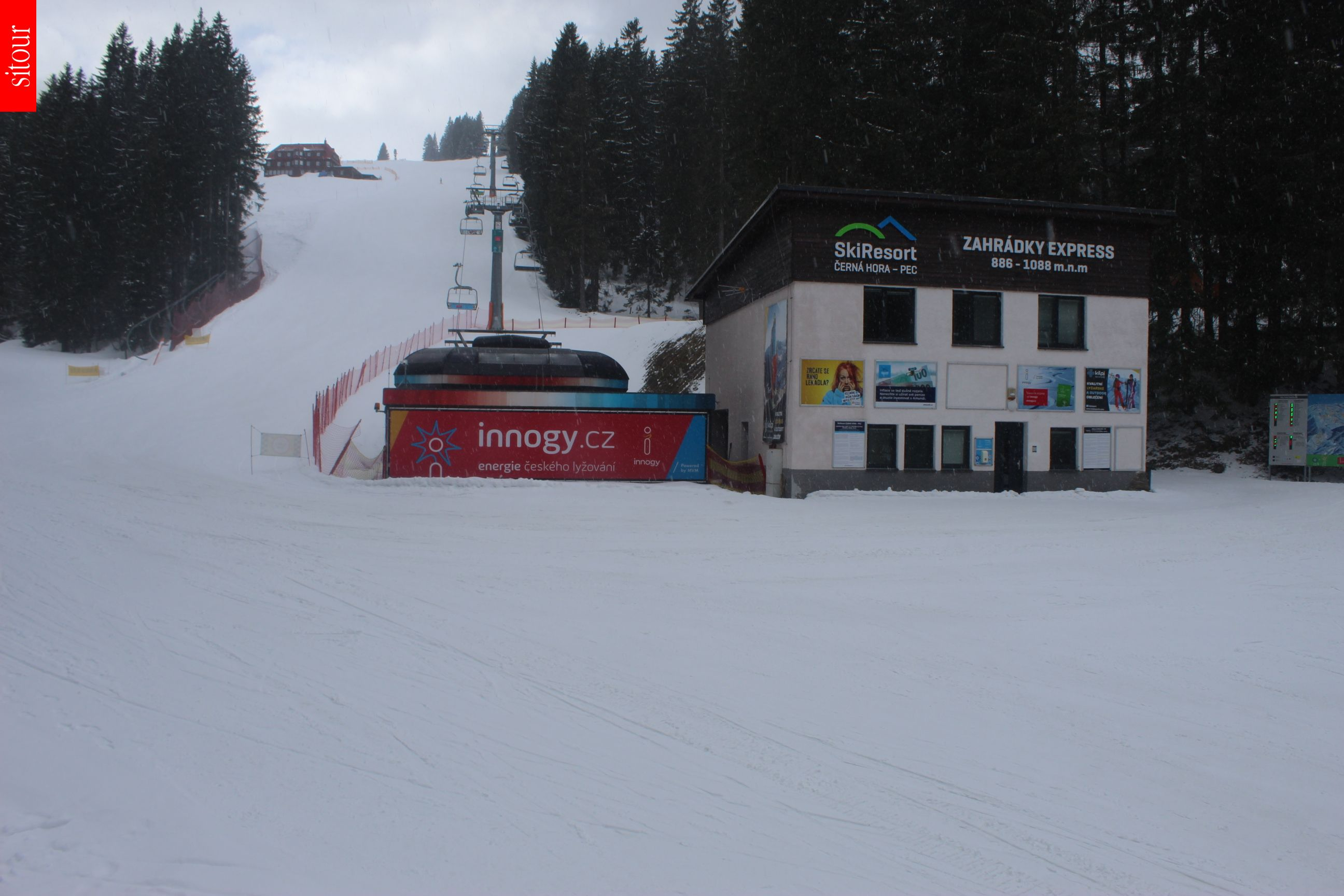 Skiresort Černá hora - Pec - Zahrádky