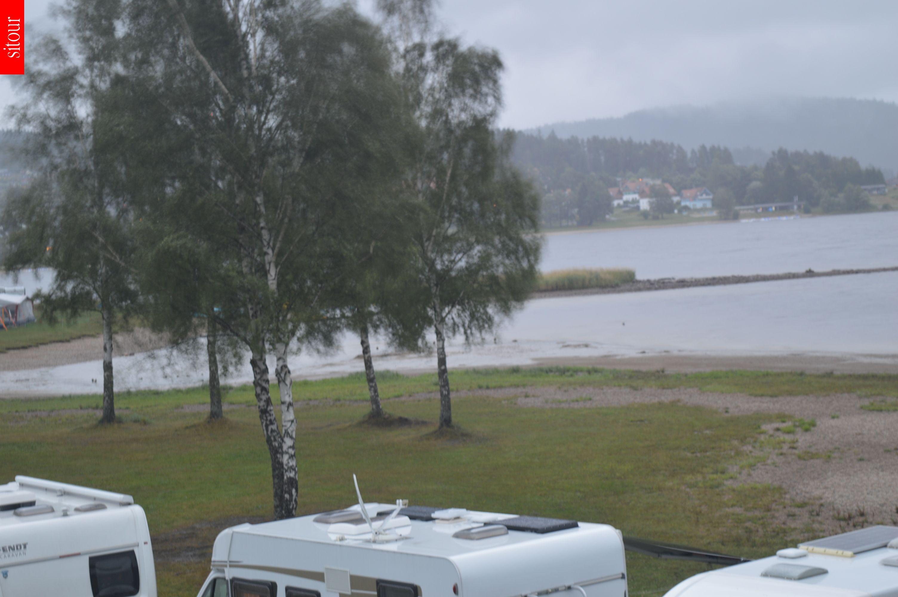 Lipno Beach